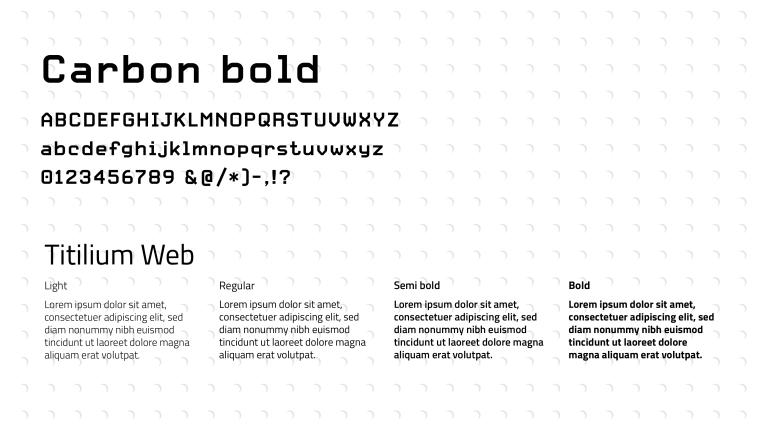 logo bobine fablab typographie