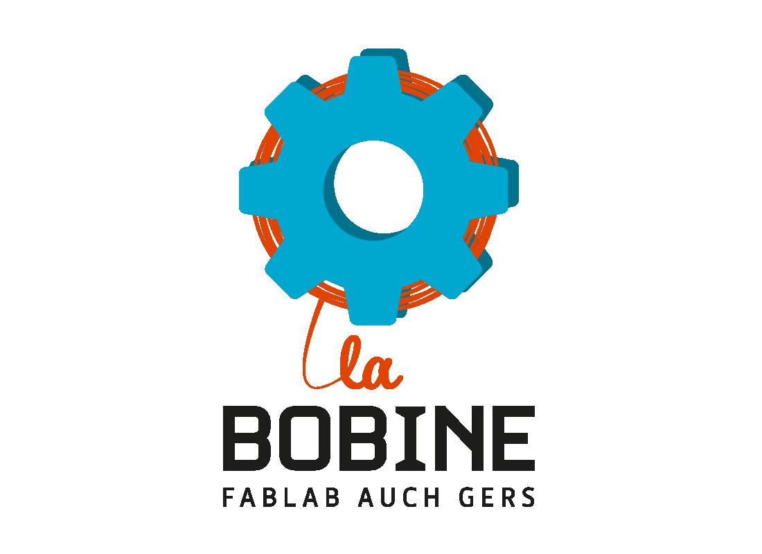fablab logo gers bobine
