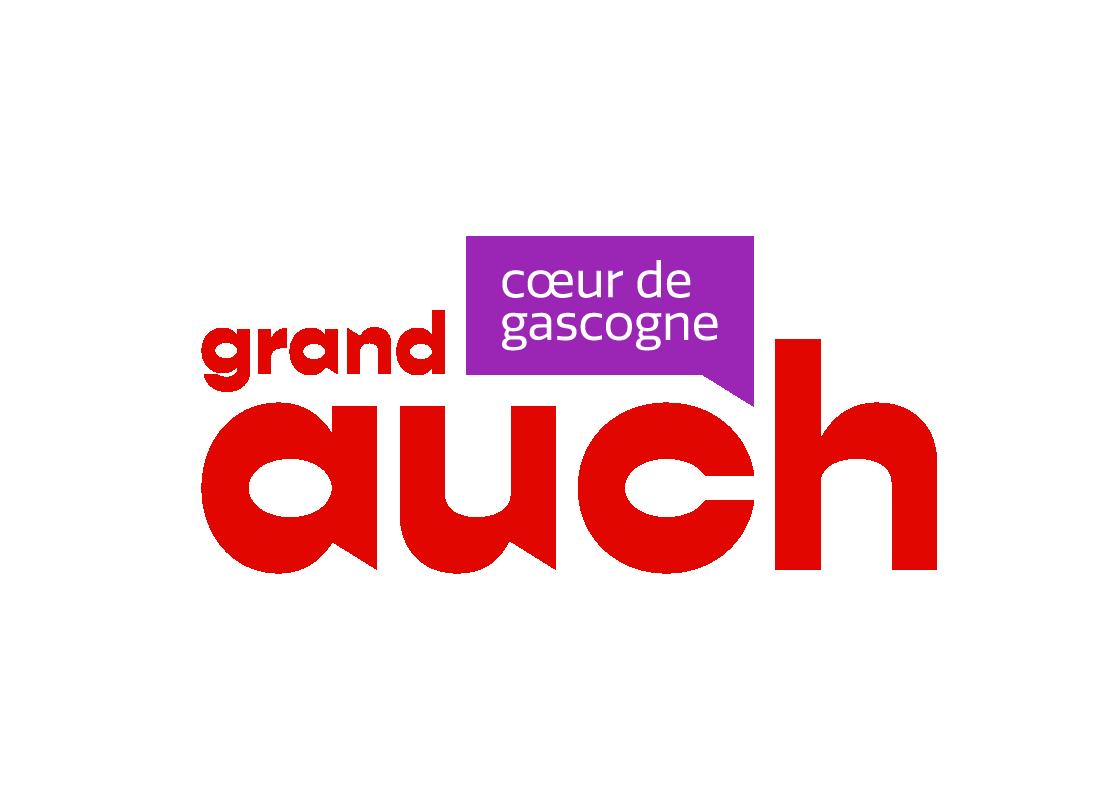 logo identité visuelle grand auch office du tourisme