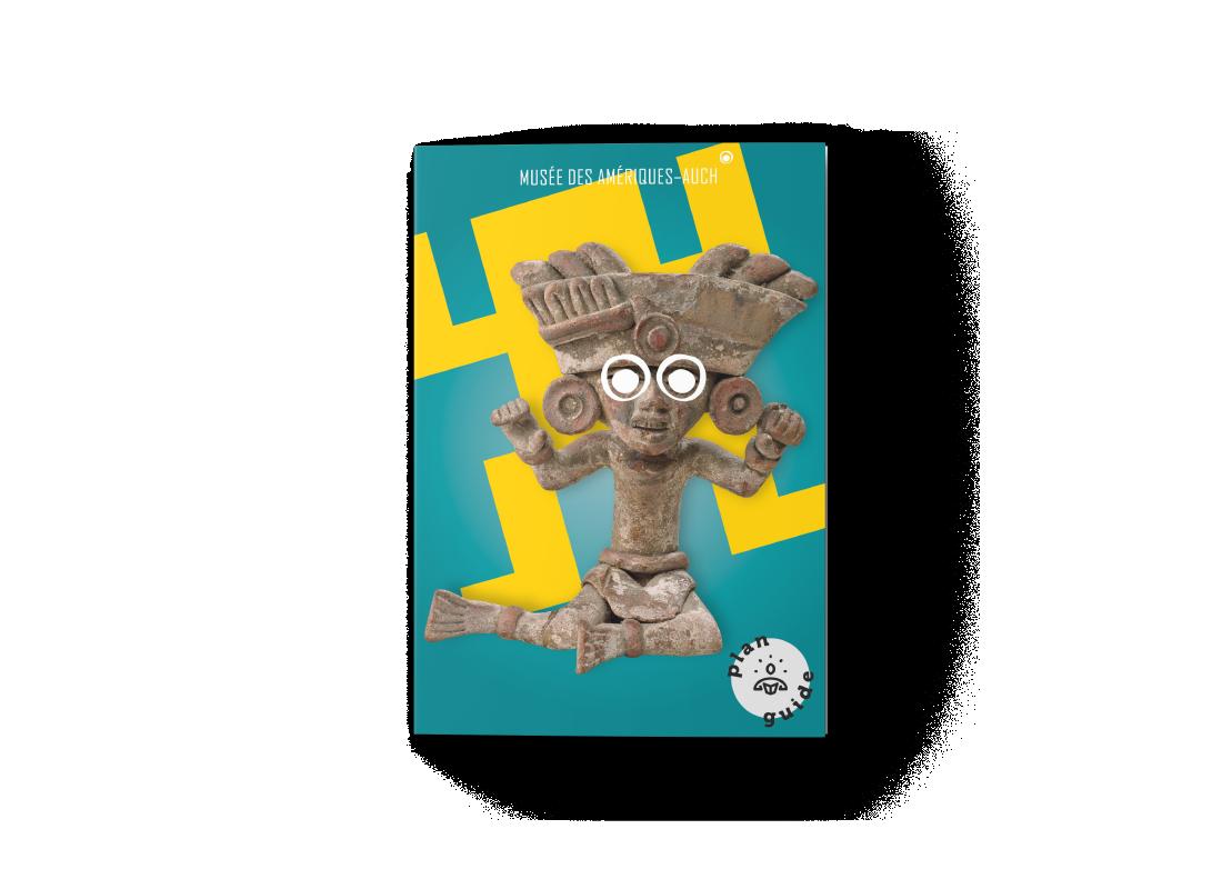 musée des amériques auch foyer brochure affiche identité visuelle