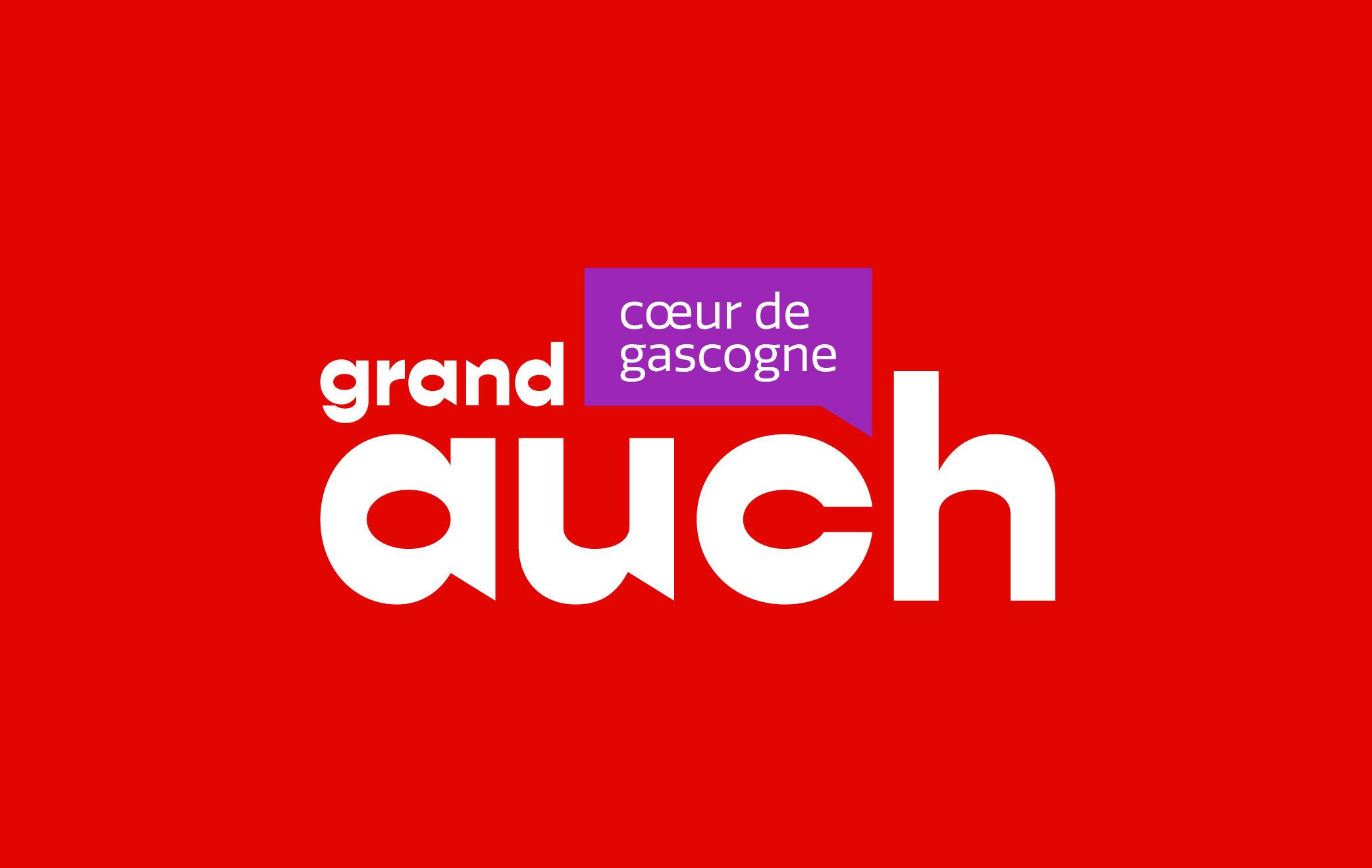 Identité visuelle — Office du tourisme Grand Auch Cœur de Gascogne