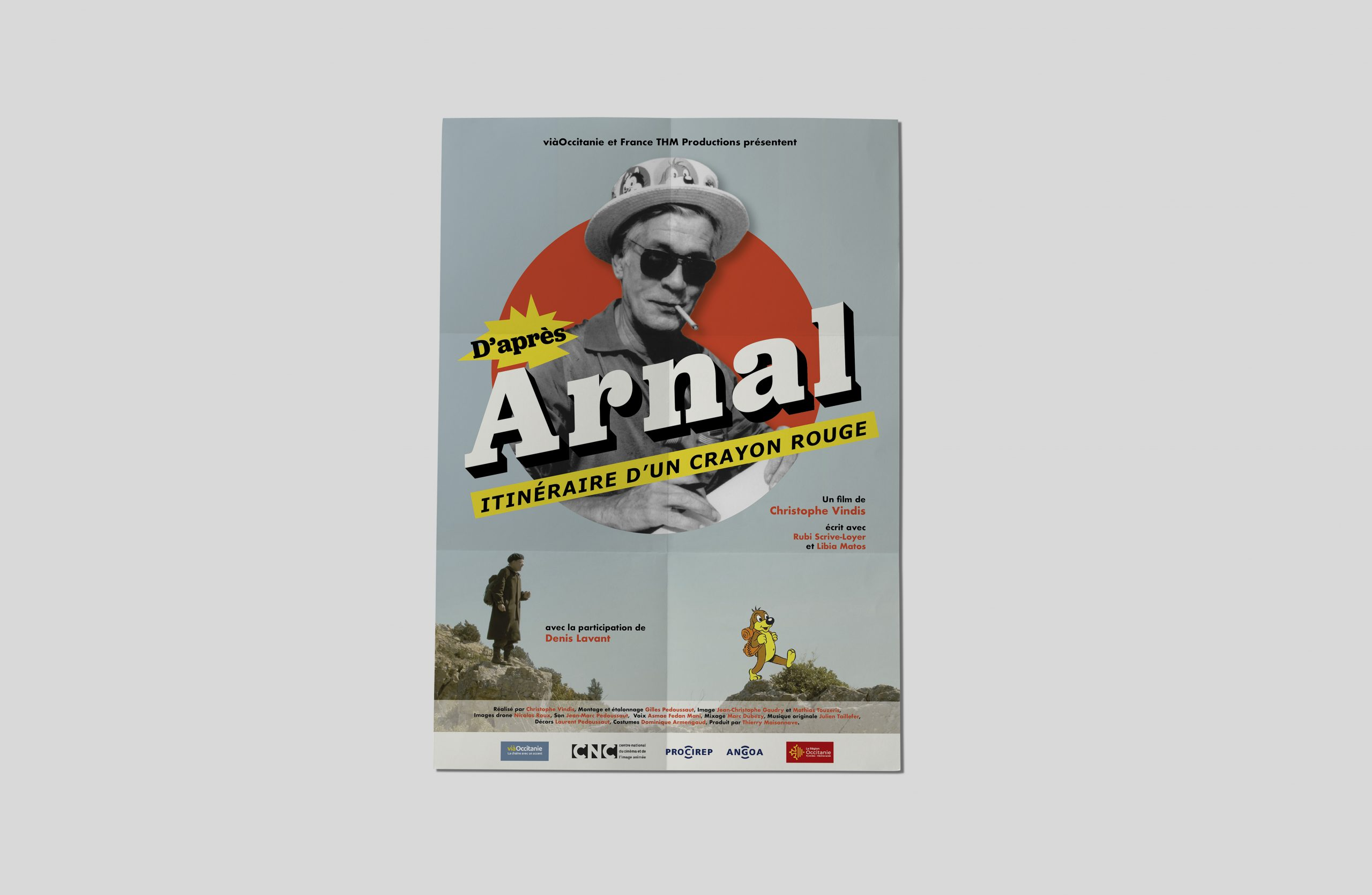 arnal pif affiche film documentaire