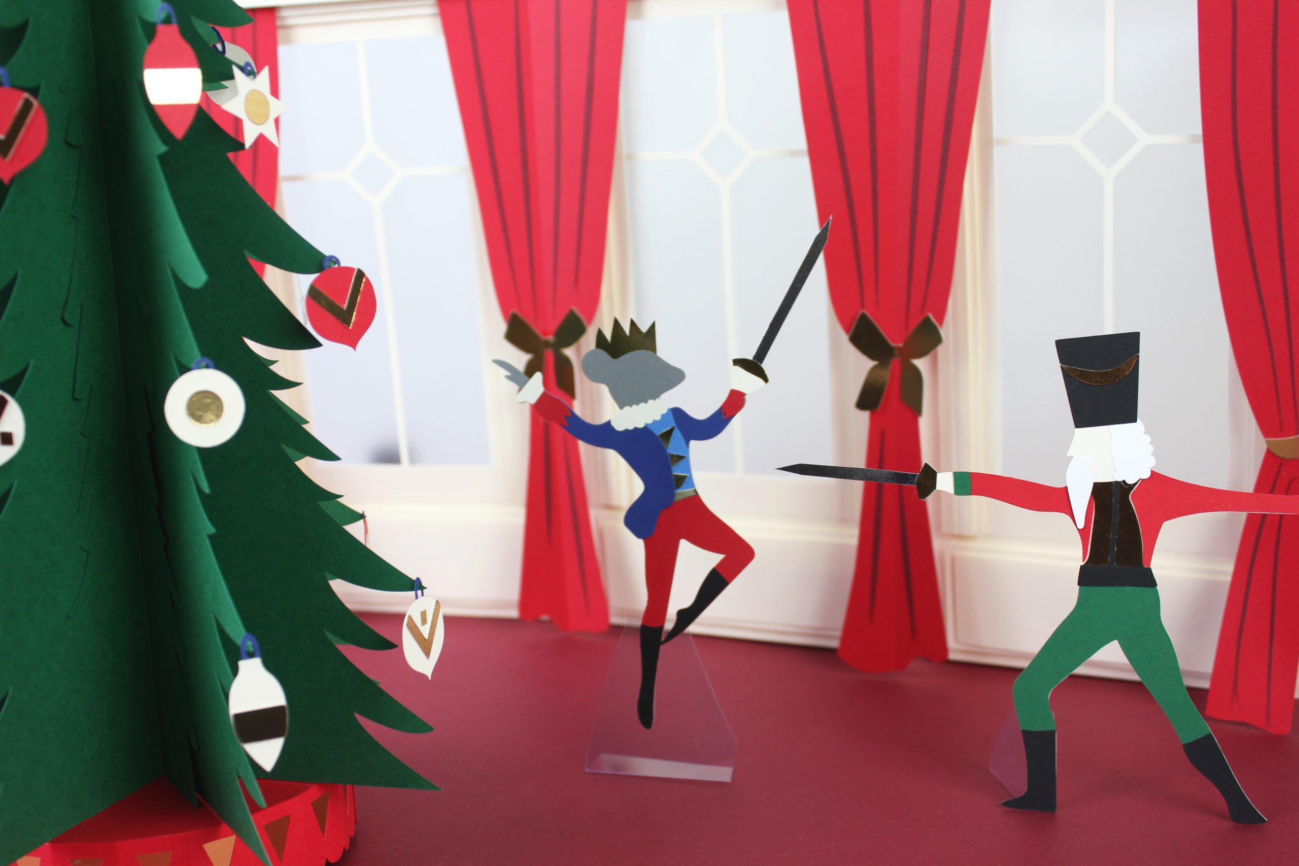 Vitrines animées Noël 2021 — Santa Rosa