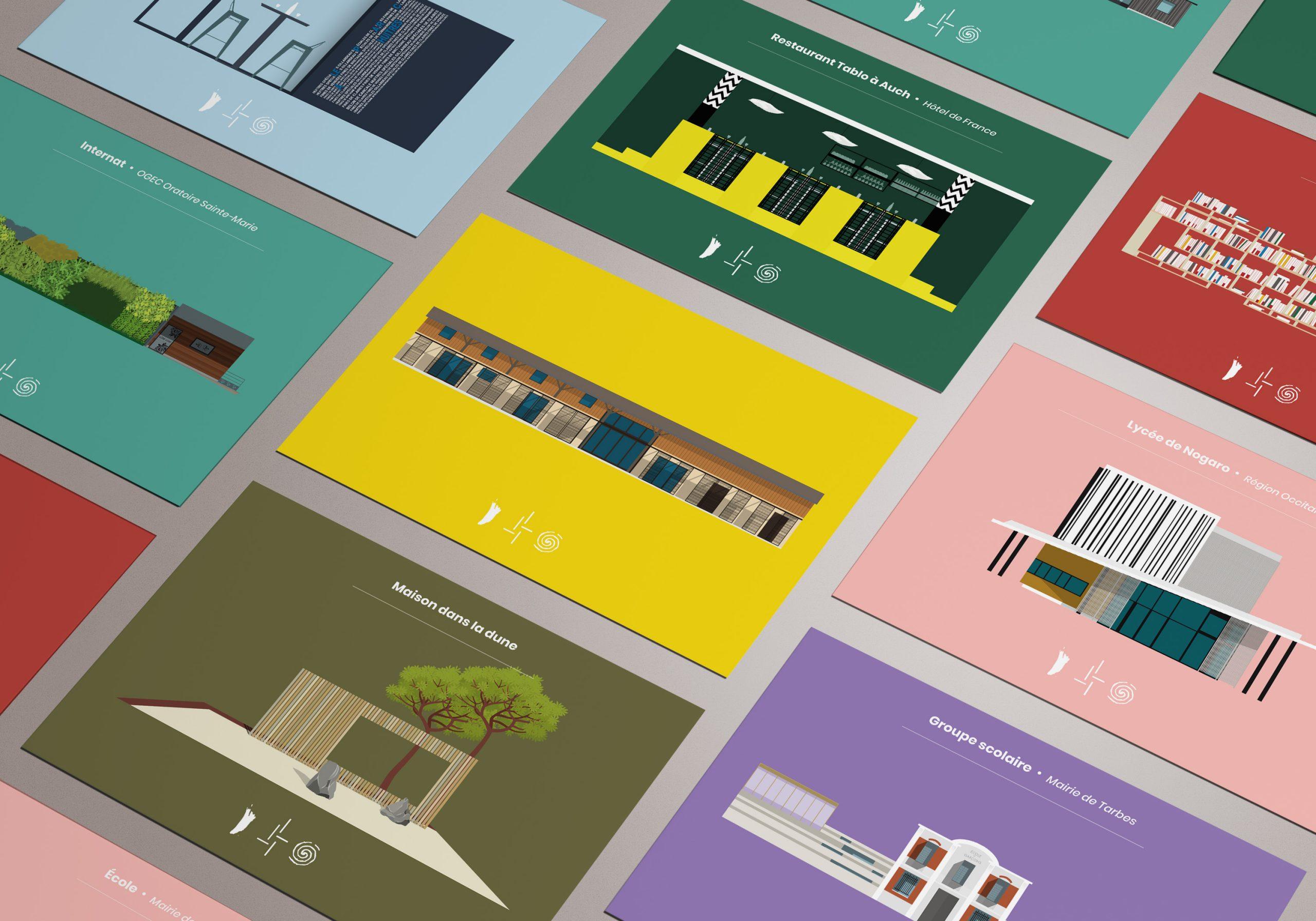 site internet airoldi architecture illustration